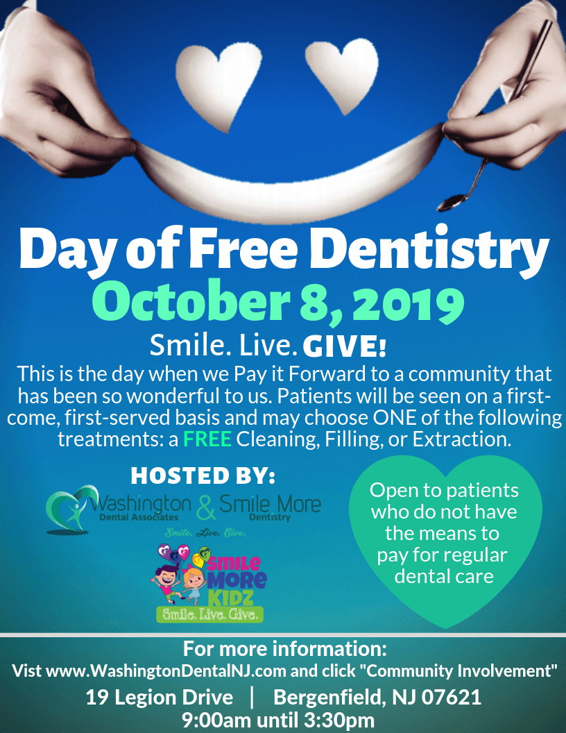Day of Free Dentistry Flyer