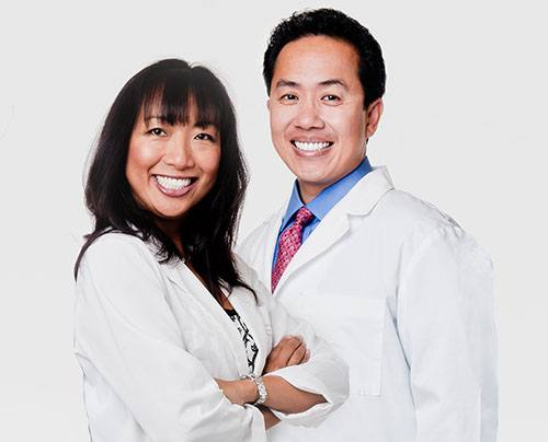 doctors smiling together